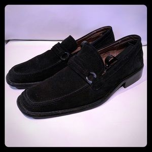 Fratelli Rossetti Shoes - Fratelli Black Suede Leather Slip-On Loafers